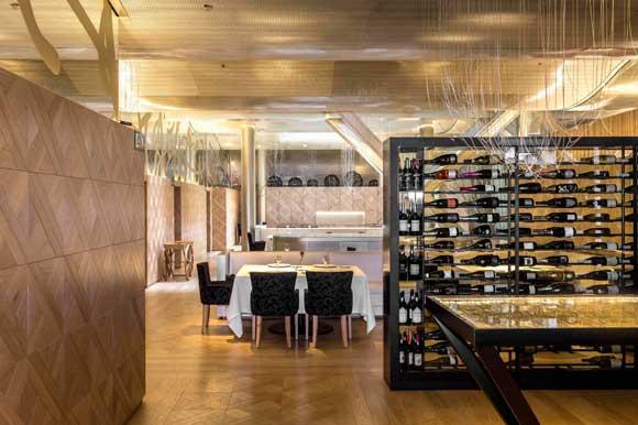 El luminoso nuevo look del restaurante Lasarte