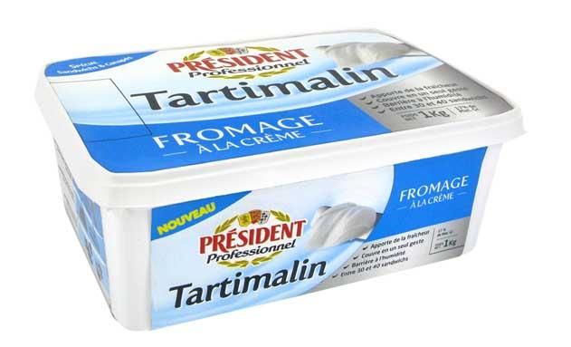 Queso crema Tartimalin