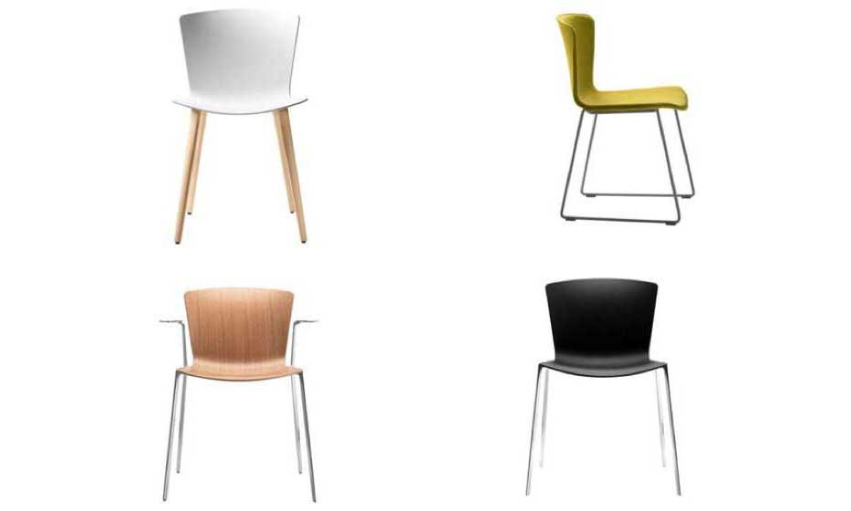 La silla Slam, con diferentes acabados y complementos