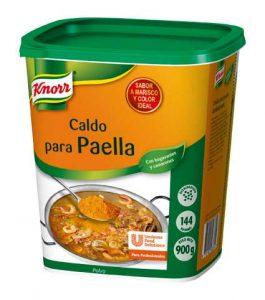 Caldo para paella de Knorr