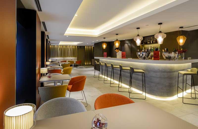 Bar del hotel NH Collection Colón