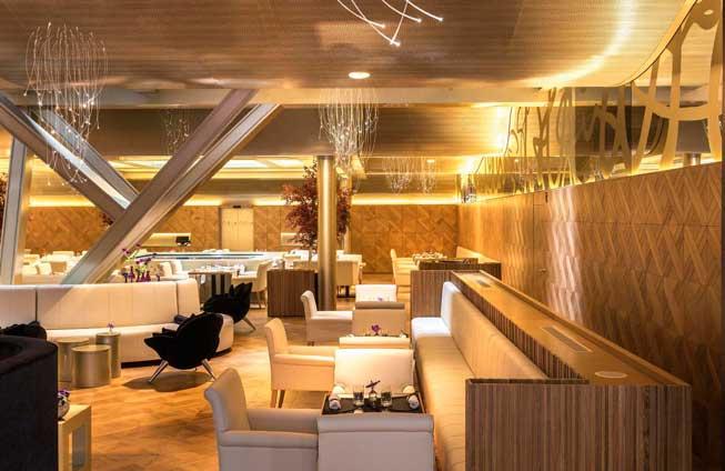 El luminoso restaurante Oria, de cocina mediterránea