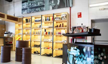 Interior de La Tienda del Barman