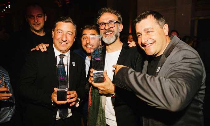 Los hermanos Roca y Massimo Bottura
