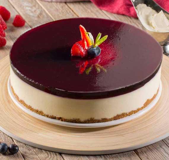 Cheesecake elaborado en frío