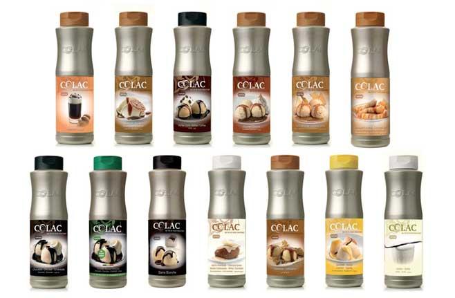 Los sabores más golosos de las salsas Colac
