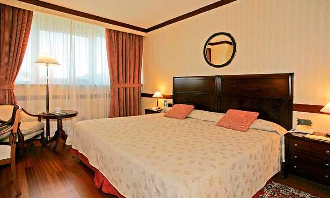 Habitación del Gran Hotel Santiago