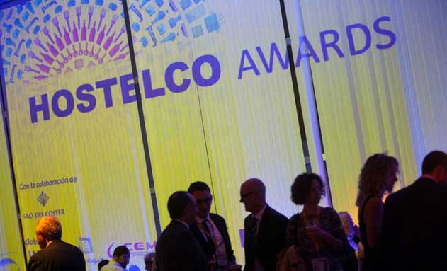 Celebración de entrega de premios en la última edición de los Hostelco Awards