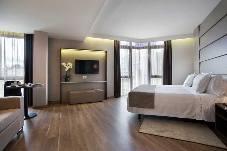 Junior Suite del hotel América Barcelona