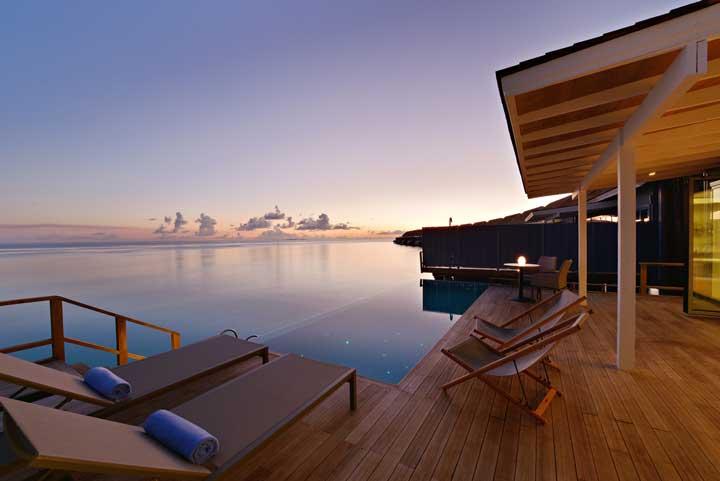 El Hotel Kuramathi Island Resort, con 160 habitaciones, es uno de los más grandes y lujosos de las islas Maldivas