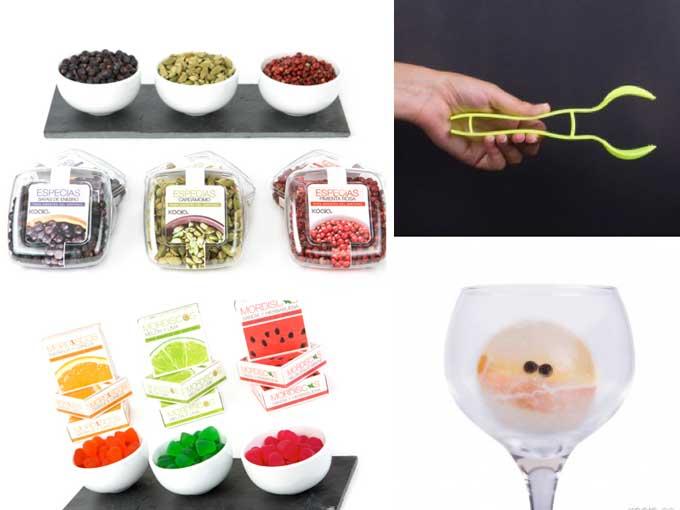 Especias, snacks para gin-tonic y accesorios de Koala
