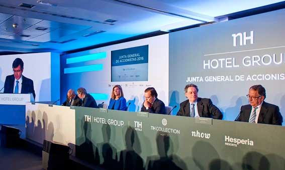 Imagen de la última junta de accionistas de NH Hotel Group