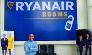 Presentación de Ryanair Rooms
