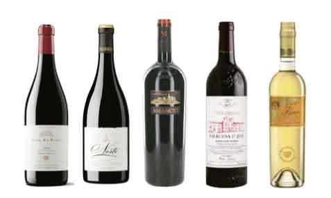 Los cinco vinos con 100 puntos en la Guía Proensa 2016