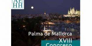 XVIII Congreso Nacional de Hostelería Hospitalaria, en Palma de Mallorca en octubre