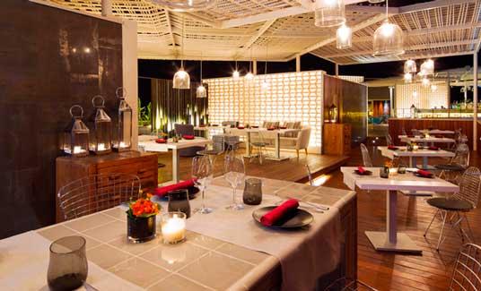 El espacio Vi Cool en el hotel Aguas de Ibiza