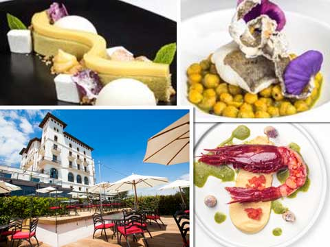 La terraza del Gran Hotel La Florida y varias creaciones de Iván Tarragó