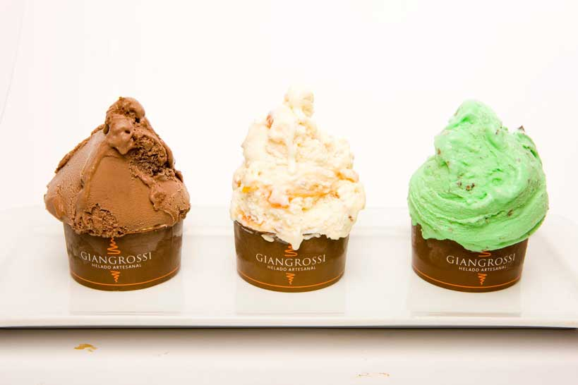 Tarrinas de helado Giangrossi
