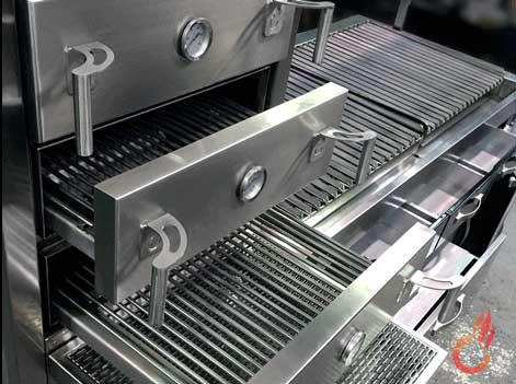 Cajones del horno de brasa Embers Oven