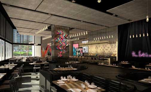 El restaurante asador STK del nuevo hotel Me Miami,