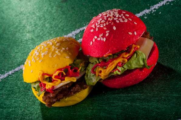 Las Mini Hamburguesas de la Roja