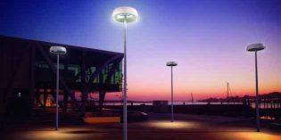 Un punto generador de energía a partir del viento y el sol