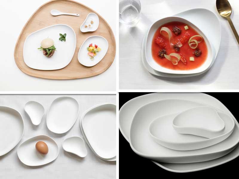 Platos de la colección Yayoi, de Cookplay