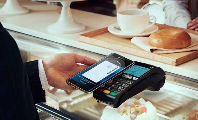 Pago con el sistema Samsung Pay