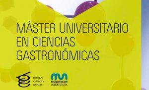 Logo del master Universitario en Ciencias Gastronómicas