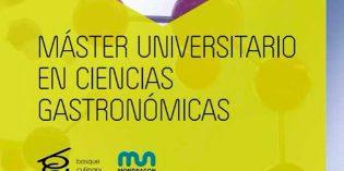Máster Universitario en Ciencias Gastronómicas