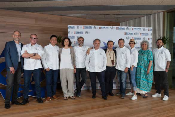 El jurado del Basque Culinary World Prize