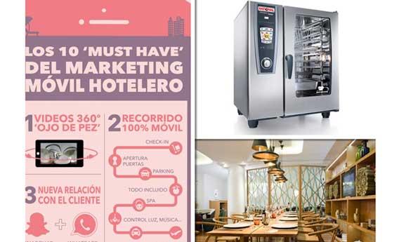Imágenes de tres artículos de los Hunters de Hostelco