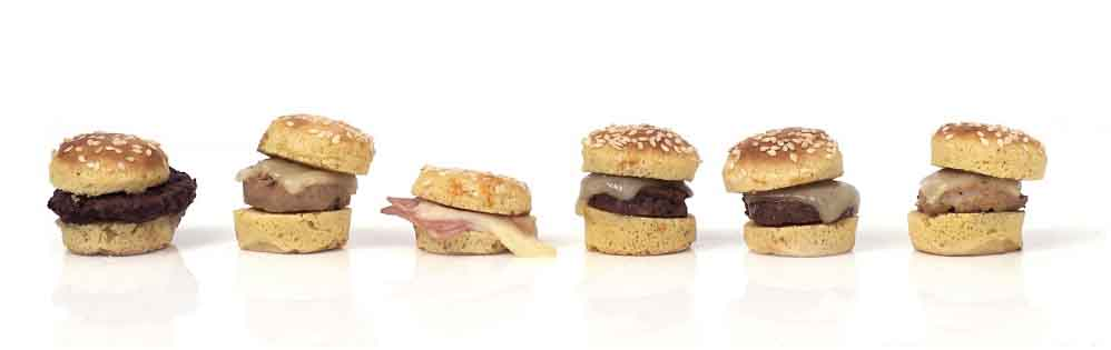 Micro hamburguesas de Ibepan