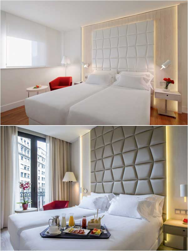 Habitaciones del hotel NH Collection Pódium