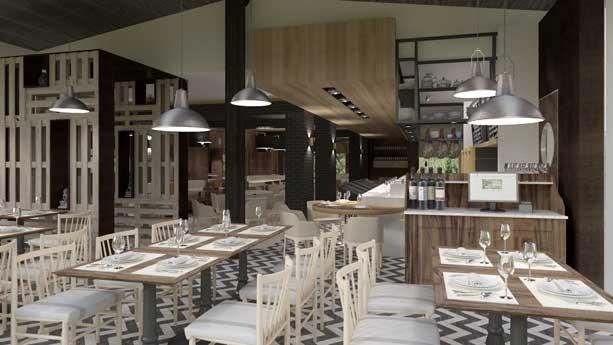 Restaurante Txoko en el hotel Abama