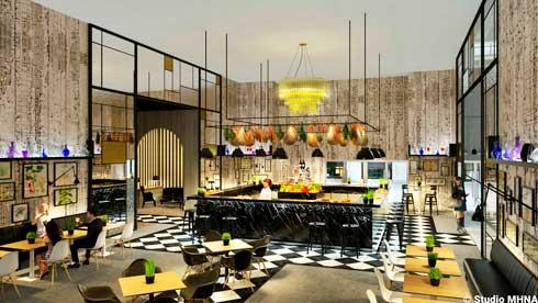 El impresionante Bar de Studio16,