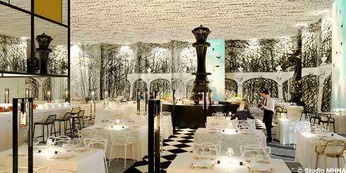El elegante restaurante Resto de Chefs de Studio16