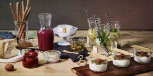 Los frascos herméticos que sirven también como menaje de mesa