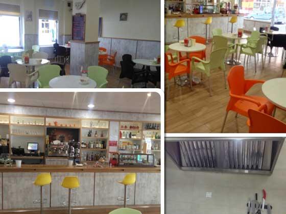 Cafetería de Gijón en traspaso