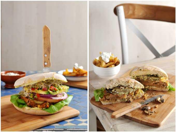 Las hamburguesas veganas son la especialidad de VivaBurger