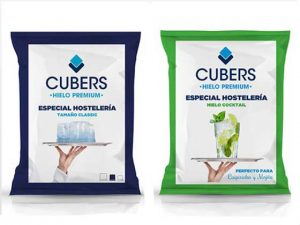 Bolsas de hielo Cubers