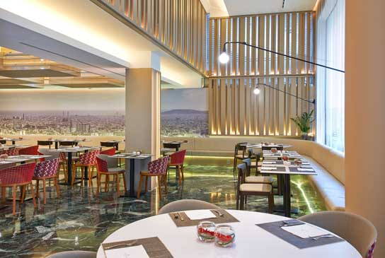 El restaurante del hotel NH Collection Pódium