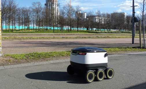 Robot de Starship Tecnologies que usará Just Eat