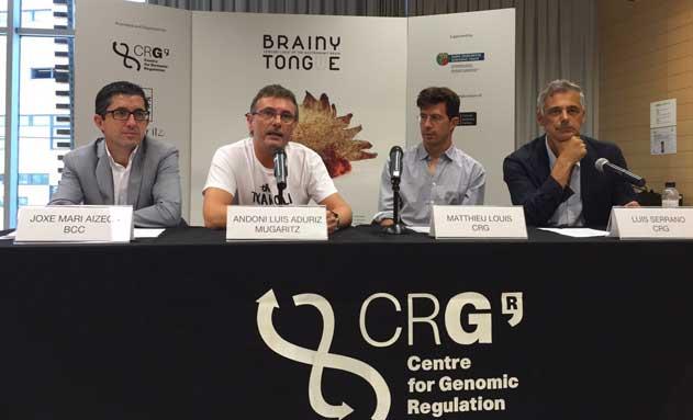 Momento de la presentación de Brainy Tongue en Barcelona