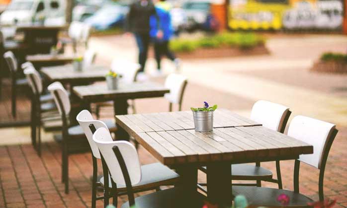 Terraza de bar - Concurso Nescafé