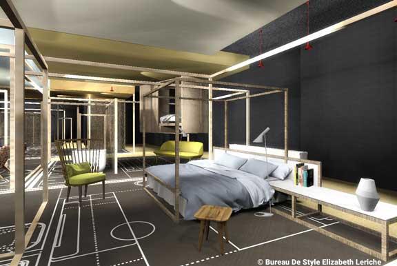 Habitación de hotel en Studio16