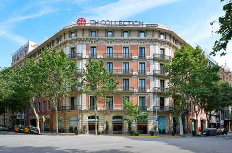 Fachada del hotel NH Collection Pódium