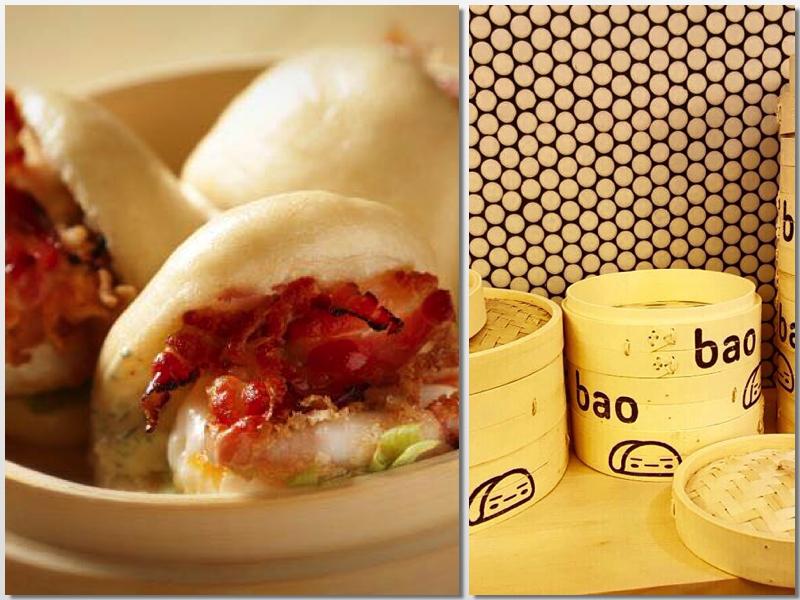 Bao y vaporera de Bao Bar