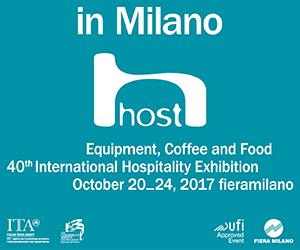 Host, 40 Feria Internacional de Hostelería: Equipamiento, Cafetería y Alimentación. Milán, 20-24 octubre 2017