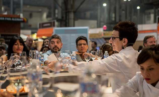 La chef Carme Ruscalleda, en la pasada edición de Barcelona Degusta